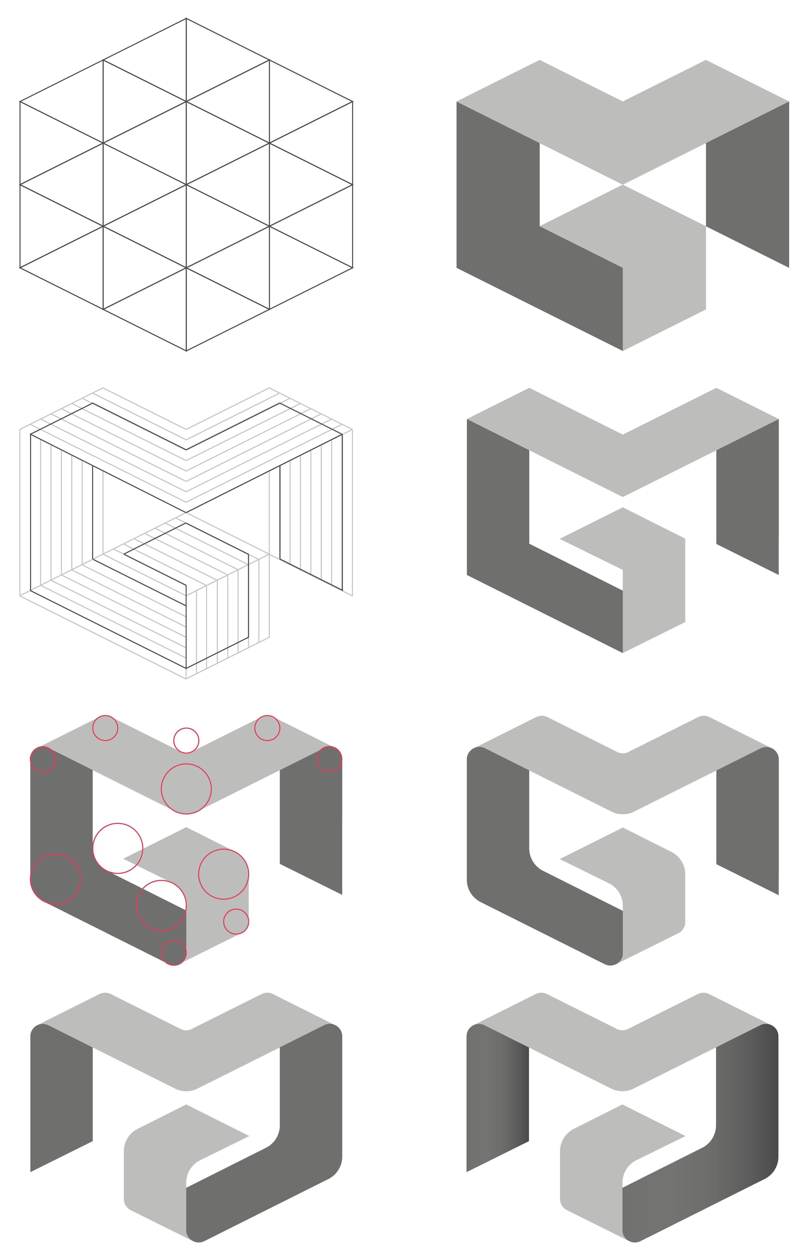 Architecture logotype Meubles Delmas